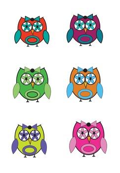 Clip Art-Owls