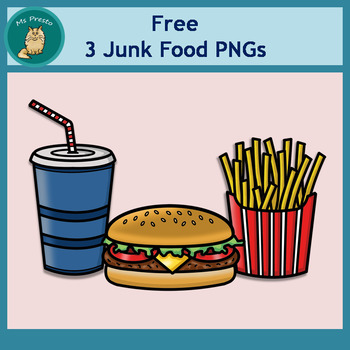 Clip Art PNGS - Free Junk Food