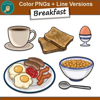 Clip Art PNGs - Breakfast Freebie
