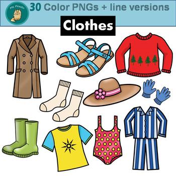 Clip Art PNGs - Clothes