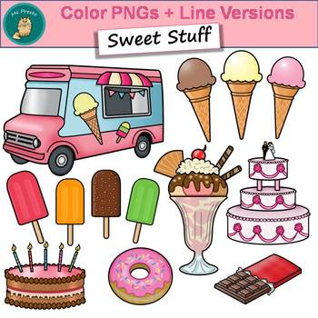 Clip Art PNGs - Sweet Stuff