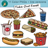 Clip Art PNGs - Take Out Food - Fast Food