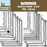 Clip Art: Page Borders - 20 Fun decorative borders