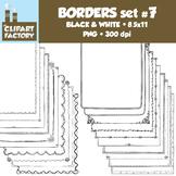 Clip Art: Page Borders - 20 NEW Fun decorative borders - Set #7