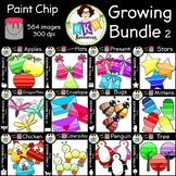 Clip Art ● Paint Chip Bundle 2