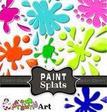 Clip Art Paint Splashes & Ink Blots