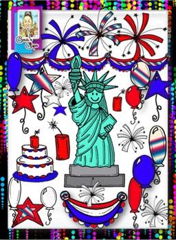 Clip Art-Patriotic USA