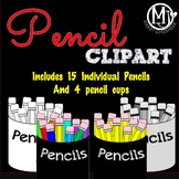 Clip Art - Pencils