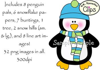 Clip Art - Penguin Pals!