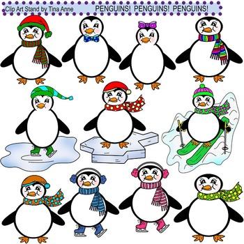 Clip Art Penguins Penguins Penguins