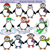 Clip Art Penguins Penguins Penguins