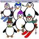 Clip Art Penguins Penguins Penguins Combo