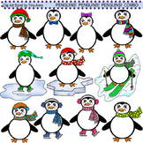 Clip Art Penguins Penguins Penguins Combo
