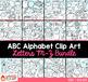 Alphabet Clip Art M - Z Bundle