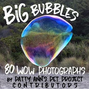 Clip Art * Photographs * BiG BUBBLES * 80 Fun Photos Blowing Gigantic Soap Orbs
