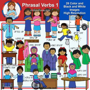 Clip Art - Phrasal Verbs 1
