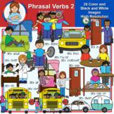 Clip Art - Phrasal Verbs 2
