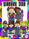 Clip Art~ Picasso Art Kids