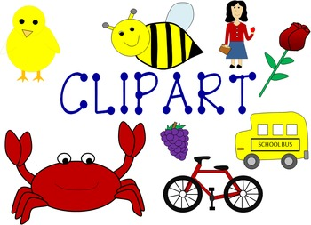 Clip Art Pictures Featuring Long and Short Vowel Sounds