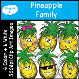 Clip Art-Pineapple Family