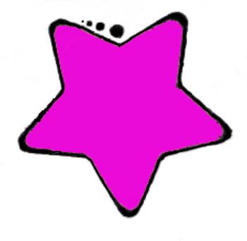 Clip Art-Pink Star