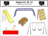 Clip Art -Playground {or Park} Equipment Clip Art