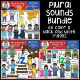 Clip Art - Plural Sounds Bundle