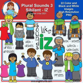 Clip Art - Plural Sounds - Sounds like iz
