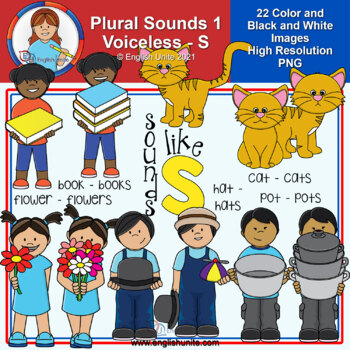Clip Art - Plural Sounds - Sounds like s