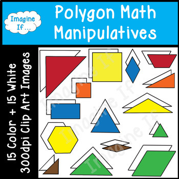 Clip Art-Polygon Math Manipulatives