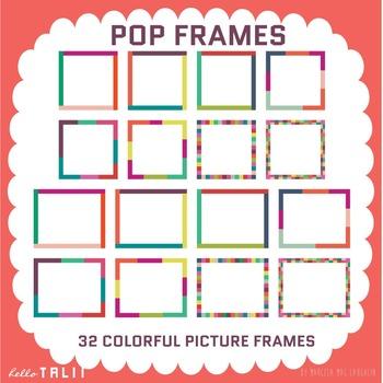Clip Art: Pop Frames