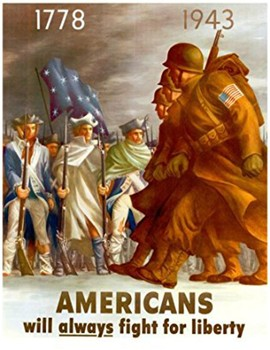 Clip Art & Posters | Vintage WWI and WWII War Posters | 37 Images (Gr. K-12)