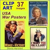 US History - Veterans & Memorial Day - World War II Posters