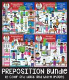 Clip Art - Prepositions Bundle