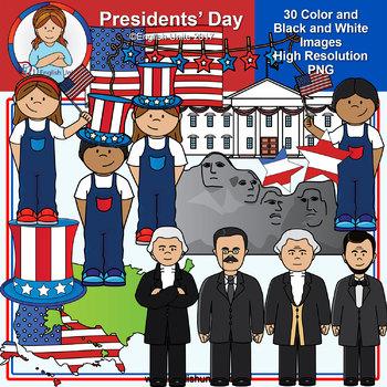 Clip Art - Presidents Day