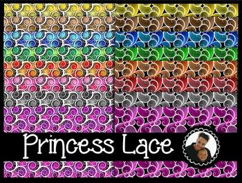 Clip Art~ Princess Lace Digital Paper Collection