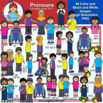 Clip Art - Pronouns