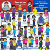 Clip Art - Pronouns