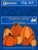 Clip Art - Pumpkins, Seeds, And More
