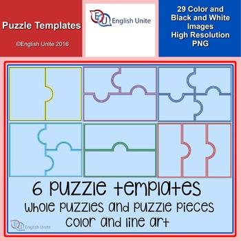 Clip Art - Puzzle Templates