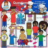 Clip Art - Question Words
