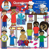 Clip Art - Question Words
