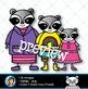 Raccoons Clip Art