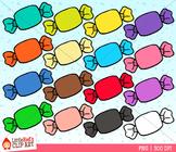 Rainbow Candy Clipart