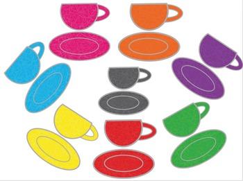 Clip Art Rainbow Cup Tea