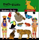 Clip Art: Rainforest