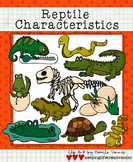 Clip Art: Reptile Characteristics