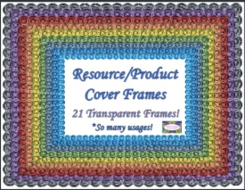 Clip Art Resource/Product Cover Frames