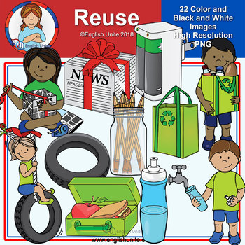 Clip Art - Reuse (Earth Day)
