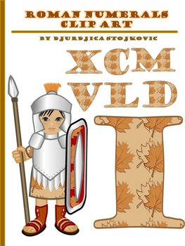 Clip Art: Roman Numerals